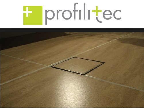 Profilitec presents the square drain for walk in showers